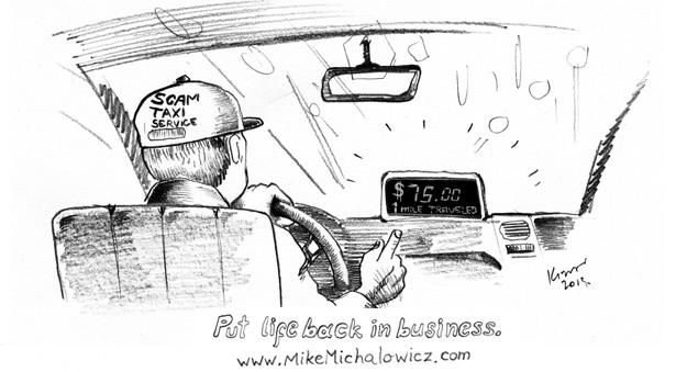 Taxi Cab Scam
